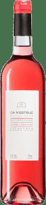 9,95 € Free Shipping | Rosé wine Ca N'Estruc Rosat D.O. Catalunya Catalonia Spain Bottle 75 cl
