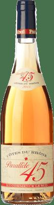 9,95 € Envío gratis | Vino rosado Jaboulet Aîné Rosé Parallèle 45 A.O.C. Côtes du Rhône Francia Syrah, Garnacha, Cinsault Botella 75 cl