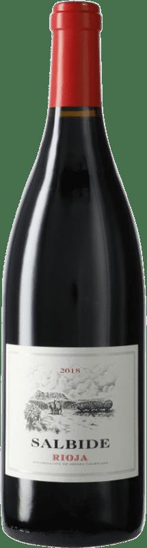 5,95 € Envío gratis | Vino tinto Izadi Salbide D.O.Ca. Rioja España Botella 75 cl