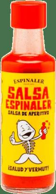 1,95 € Envío gratis | Salsas y Cremas Espinaler Salsa Aperitivo España Botellín 10 cl