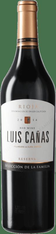 18,95 € Free Shipping | Red wine Luis Cañas Selección de la Familia Reserva D.O.Ca. Rioja Spain Bottle 75 cl