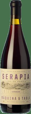 25,95 € Kostenloser Versand | Rotwein Máquina & Tabla Serapia I.G.P. Vino de la Tierra de Castilla y León Kastilien und León Spanien Grenache Flasche 75 cl