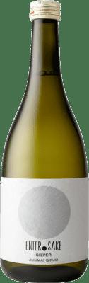 31,95 € Free Shipping | Sake Enter Sake Silver New Japan Bottle 72 cl
