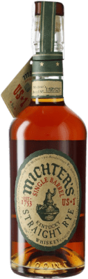 56,95 € Free Shipping | Bourbon Michter's American Single Barrel Rye Kentucky United States Bottle 70 cl