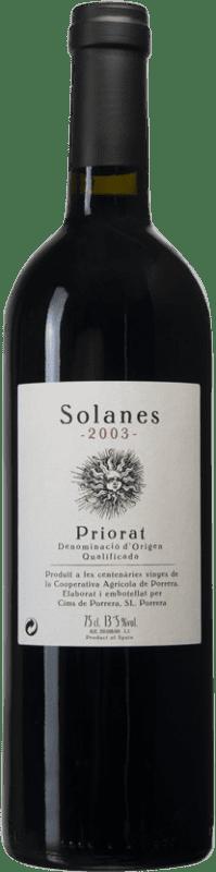 28,95 € Envío gratis | Vino tinto Cims de Porrera Solanes D.O.Ca. Priorat Cataluña España Botella 75 cl