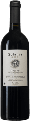 47,95 € Free Shipping | Red wine Cims de Porrera Solanes 2000 D.O.Ca. Priorat Catalonia Spain Bottle 75 cl