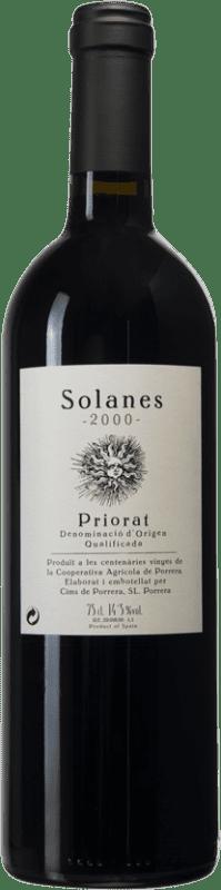 38,95 € Envío gratis | Vino tinto Cims de Porrera Solanes D.O.Ca. Priorat Cataluña España Botella 75 cl