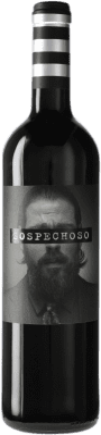 7,95 € Free Shipping | Red wine Uvas Felices Sospechoso I.G.P. Vino de la Tierra de Castilla Castilla la Mancha Spain Tempranillo, Tinta de Toro Bottle 75 cl