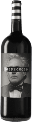 13,95 € Envoi gratuit | Vin rouge Uvas Felices Sospechoso I.G.P. Vino de la Tierra de Castilla Castilla La Mancha Espagne Tempranillo, Tinta de Toro Bouteille Magnum 1,5 L