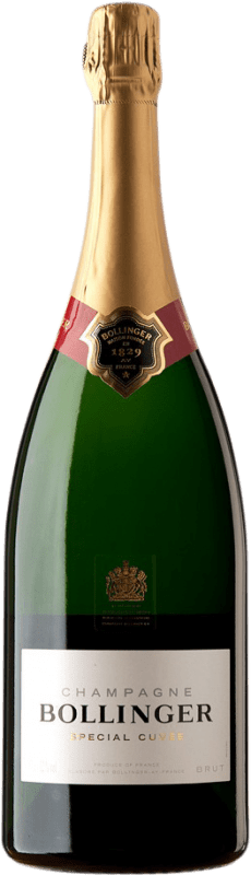106,95 € Free Shipping | White sparkling Bollinger Special Cuvée Brut A.O.C. Champagne Champagne France Pinot Black, Chardonnay, Pinot Meunier Magnum Bottle 1,5 L