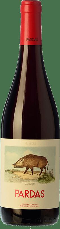 9,95 € Free Shipping | Red wine Pardas Sus Scrofa D.O. Penedès Catalonia Spain Bottle 75 cl