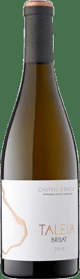 23,95 € Kostenloser Versand | Weißwein Castell d'Encús Taleia Brisat D.O. Costers del Segre Spanien Sauvignon Weiß, Sémillon Flasche 75 cl