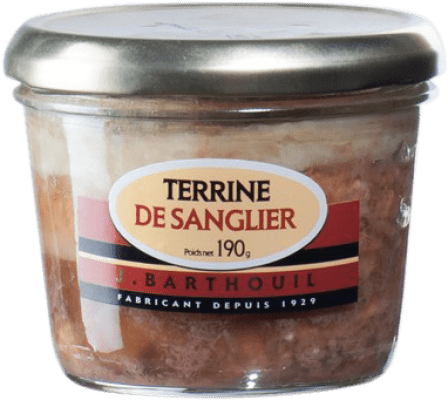 12,95 € Free Shipping | Foie y Patés J. Barthouil Terrina Sanglier France