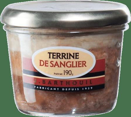 4,95 € Envío gratis | Foie y Patés J. Barthouil Terrina Sanglier Francia