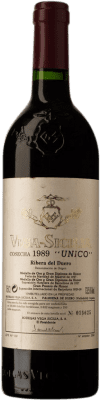 594,95 € Free Shipping | Red wine Vega Sicilia Único Gran Reserva 1989 D.O. Ribera del Duero Castilla y León Spain Tempranillo, Cabernet Sauvignon Bottle 75 cl
