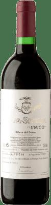715,95 € Free Shipping | Red wine Vega Sicilia Único Gran Reserva 1966 D.O. Ribera del Duero Castilla y León Spain Tempranillo, Cabernet Sauvignon Bottle 75 cl