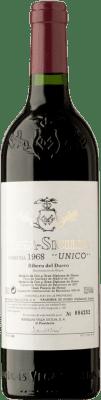 1 669,95 € Free Shipping | Red wine Vega Sicilia Único Gran Reserva 1968 D.O. Ribera del Duero Castilla y León Spain Tempranillo, Merlot, Cabernet Sauvignon Bottle 75 cl