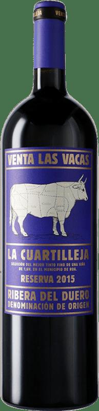 74,95 € Envoi gratuit | Vin rouge Vizcarra Venta las Vacas Finca La Cuartilleja Reserva D.O. Ribera del Duero Castille et Leon Espagne Tempranillo Bouteille Magnum 1,5 L