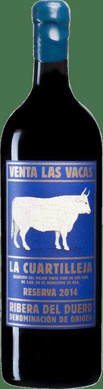 175,95 € Free Shipping | Red wine Vizcarra Venta las Vacas Finca La Cuartilleja Reserva D.O. Ribera del Duero Castilla y León Spain Tempranillo Jéroboam Bottle-Double Magnum 3 L
