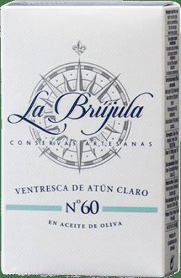 5,95 € Free Shipping | Conservas de Pescado La Brújula Ventresca de Atún Spain