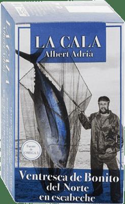 14,95 € Kostenloser Versand | Conservas de Pescado La Cala Ventresca de Bonito en Escabeche Spanien
