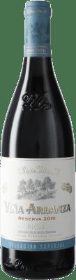 19,95 € Envío gratis | Vino tinto Rioja Alta Viña Ardanza Reserva D.O.Ca. Rioja España Tempranillo, Garnacha Botella 75 cl