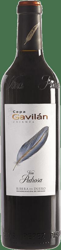 9,95 € Free Shipping | Red wine Pérez Pascuas Viña Pedrosa Cepa Gavilán Crianza D.O. Ribera del Duero Castilla y León Spain Bottle 75 cl