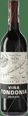 31,95 € Kostenloser Versand | Rotwein López de Heredia Viña Tondonia Reserva D.O.Ca. Rioja Spanien Tempranillo, Grenache, Graciano, Mazuelo Flasche 75 cl