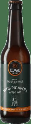 3,95 € Free Shipping | Beer Oller del Mas Vitis Picapoll Spain Botellín Tercio 33 cl