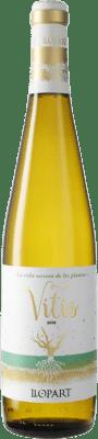 15,95 € Free Shipping | White wine Llopart Vitis D.O. Penedès Catalonia Spain Bottle 75 cl