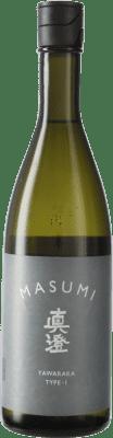 26,95 € Envío gratis | Sake Miyasaka Masumi Yawaraka Type 1 Japón Botella 70 cl