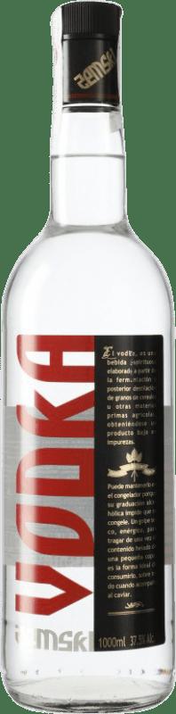 7,95 € Envío gratis | Vodka LH La Huertana Zemski España Botella Misil 1 L
